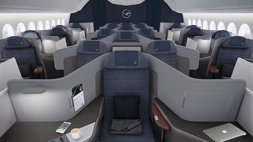 ルフトハンザドイツ航空ビジネスクラス