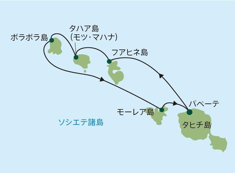 ポール・ゴーギャン・クルーズ|ソシエテ諸島 7泊8日 パペーテ発着
