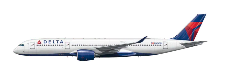デルタ航空 ファースト&ビジネスクラス a350