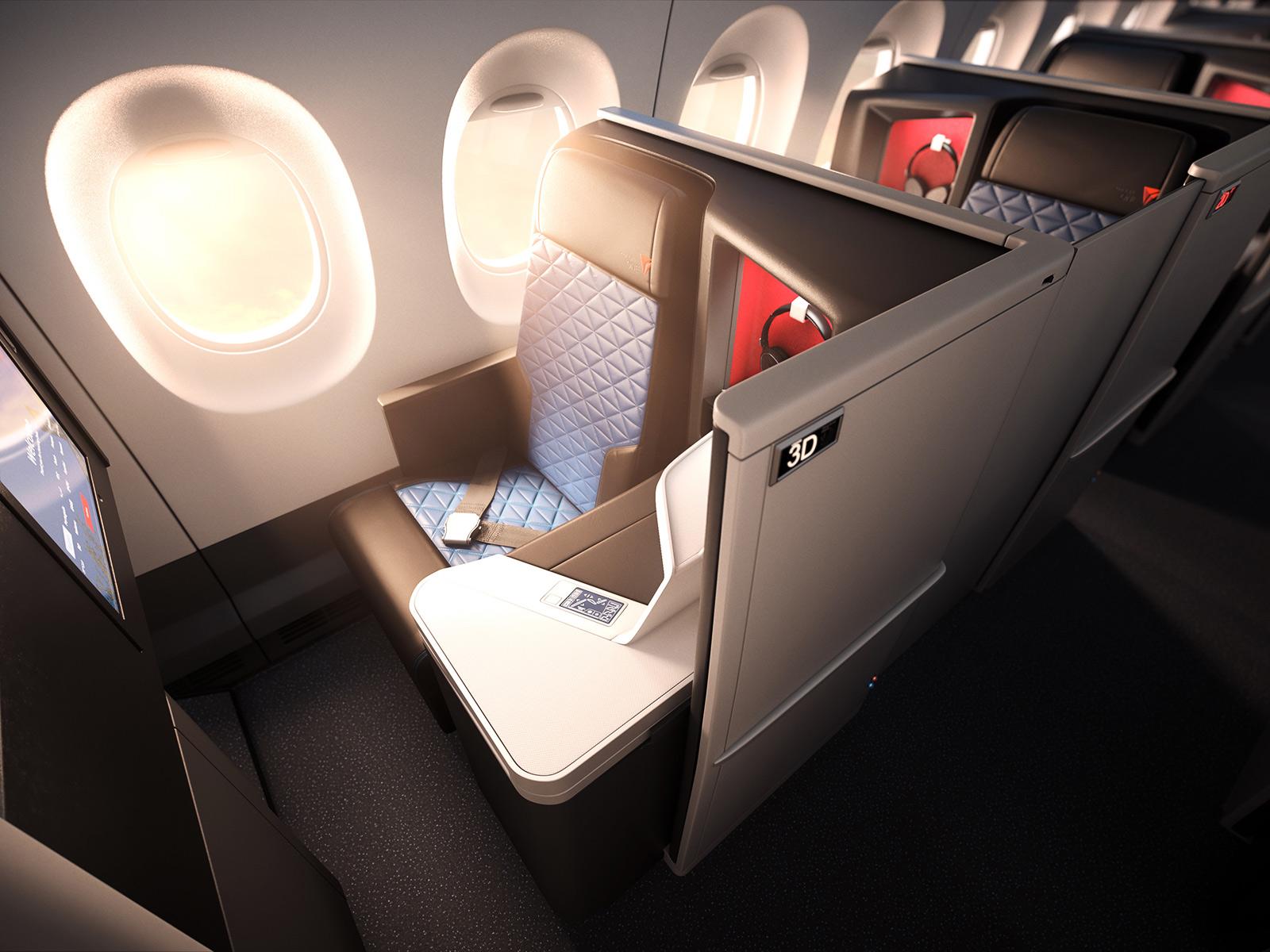 デルタ航空 ファースト&ビジネスクラス