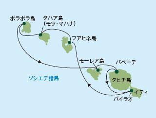 ポール・ゴーギャン・クルーズ|ソシエテ諸島とタヒチ・イティ 7泊8日(新コース)
