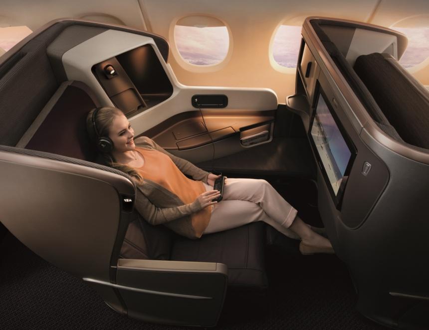 シンガポール航空A350-900および777-300ERビジネスクラス