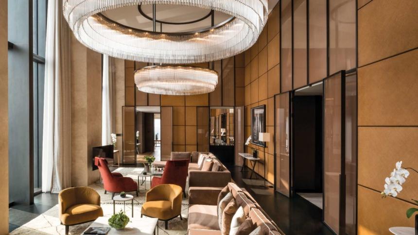 ブルガリ・スイート 400㎡ BVLGARI HOTEL BEIJING|ブルガリ ホテル 北京