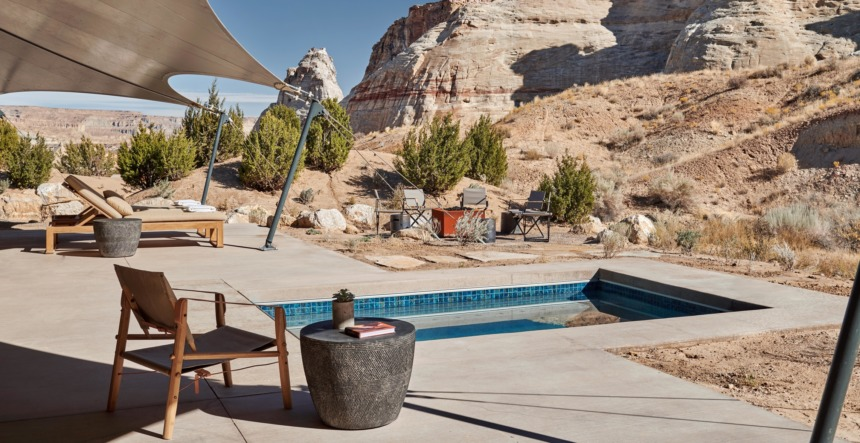 One-bedroom Private Canyon Pavilion