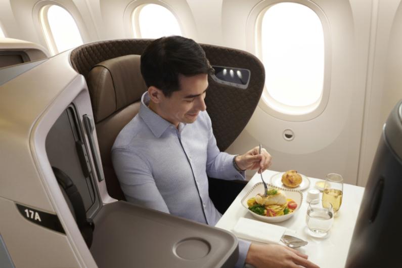 シンガポール航空787-10ビジネスクラス新シート