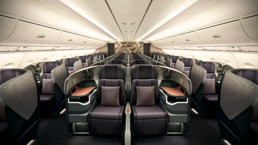 A380のビジネスクラス新シート