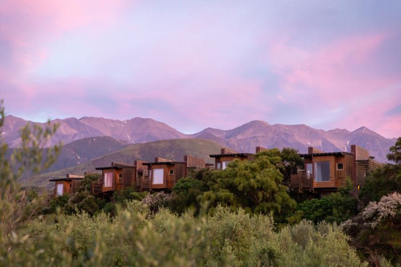 Hapuku Lodge & Tree Houses:ハプクロッジ&ツリーハウス