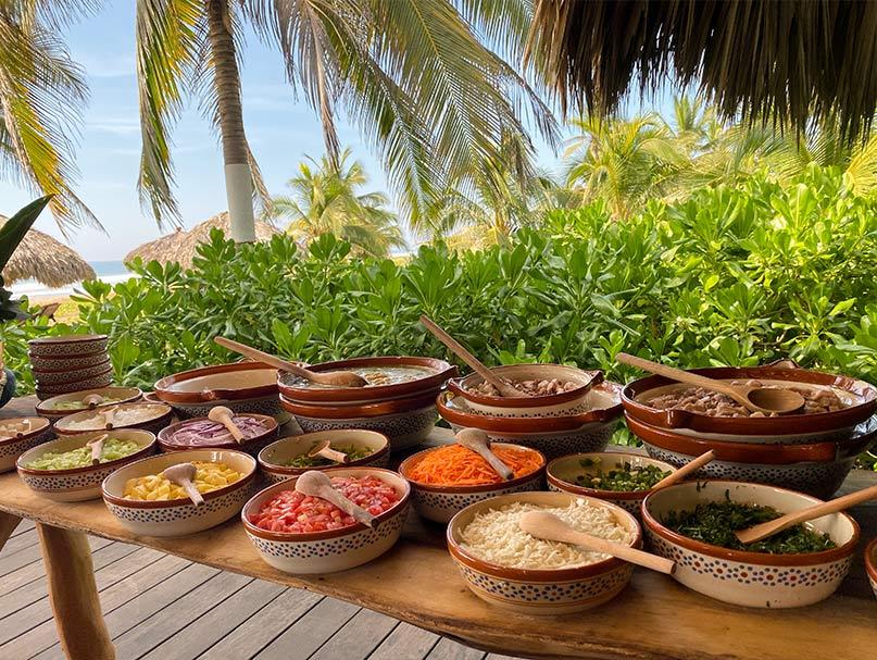 プラヤビバ|Playa Viva 食材