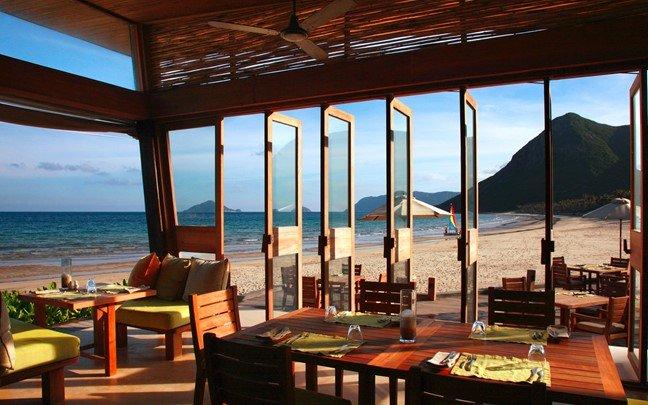 By The Beach Restaurantシックスセンシズ コンダオ:Six Senses Con Dao