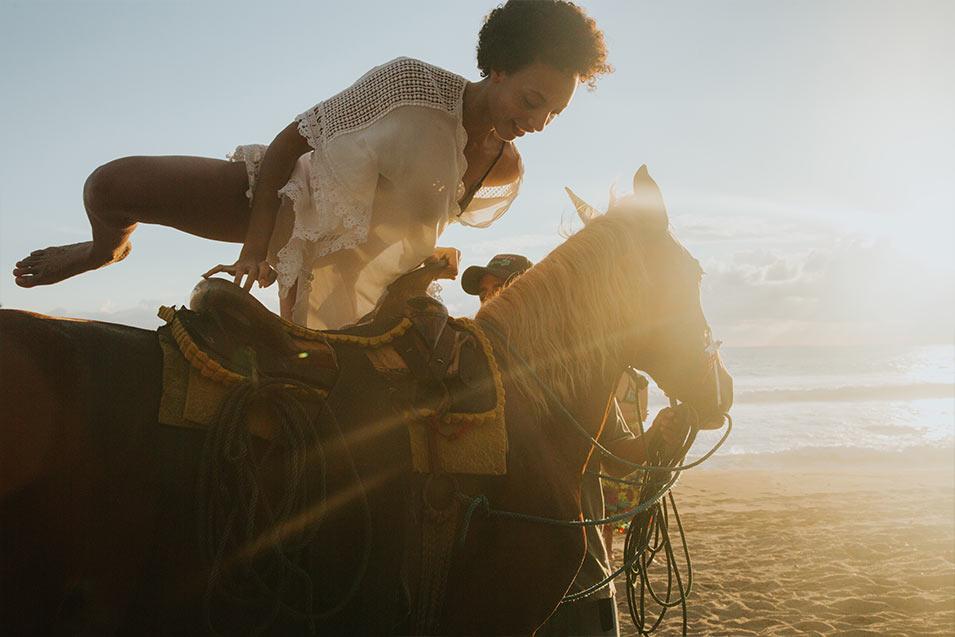 プラヤビバ|Playa Viva 乗馬