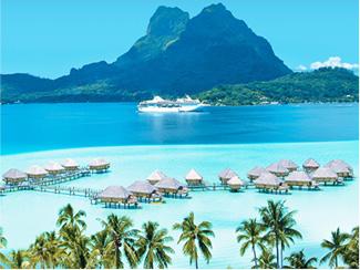 ソシエテ諸島、クック諸島、トンガとフィジー 13泊14日
