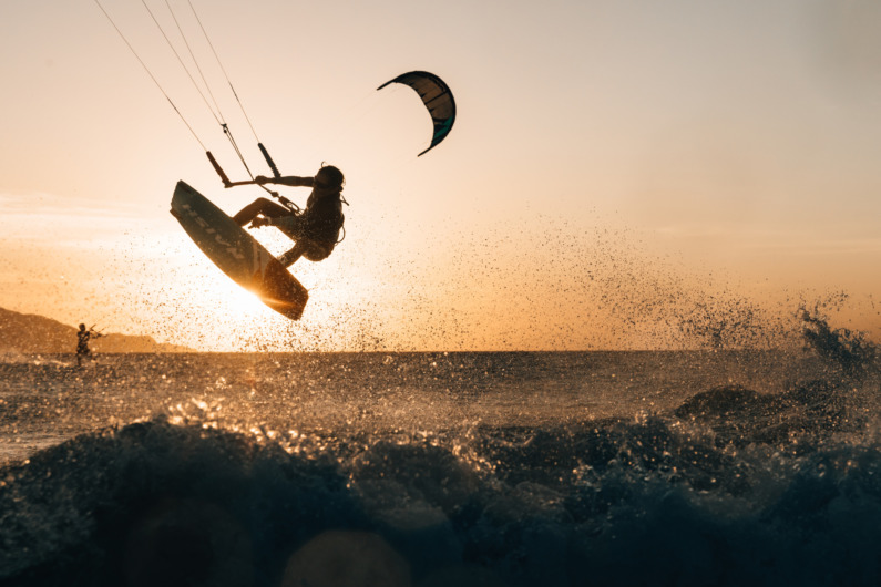 Amanpulo Kitesurfing