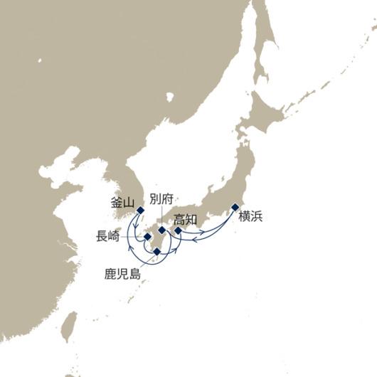 q213■ひとり旅用「ソロ・クルーズ」海側バルコニー割引新料金
