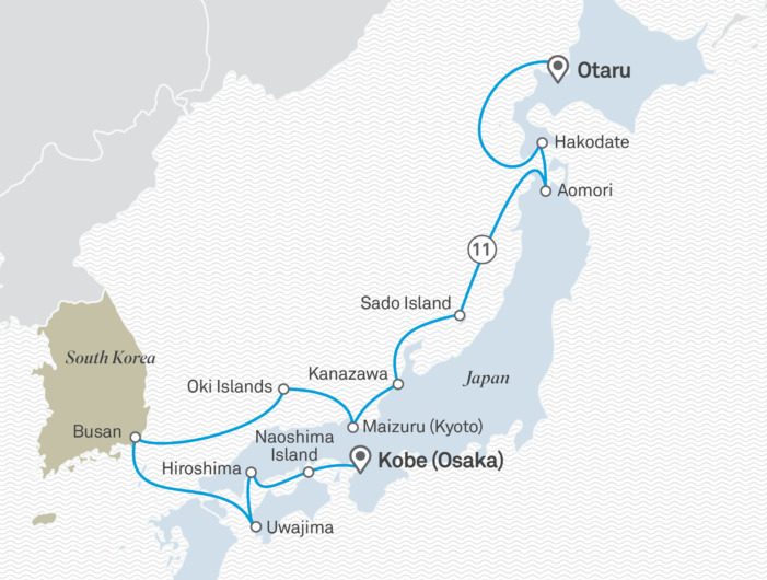 世界初の冒険船シーニック・エクリプス日本初寄港|2023年6月21日:小樽~神戸限定クルーズ11泊12日