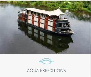 アクア・エクスペディションズは乗組員とゲストの比率が1:1できめ細やかなサービスと究極のラグジュアリーが自慢