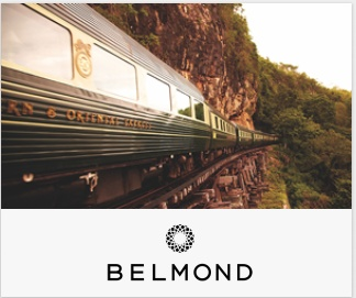 """""""ベルモンドはオリエント急行や最高級ホテルなど一生に一度の体験を提供する</div"""